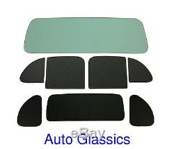 1938 Plymouth P6 Business Coupe Classic Auto Glass Kit NEW Flat Windows Vintage