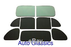 1940 1941 1942 1946 1947 1948 Plymouth Business Coupe 3 Passenger Glass Kit NEW