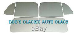 1949 1950 Plymouth Business Coupe P17 P19 Flat Glass Kit Classic Auto Windows