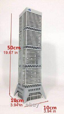 1/150 N Scale Modern Business Information Architecture DIY Building Model Kits