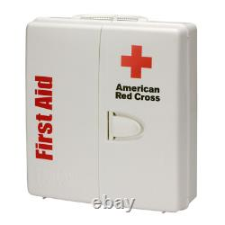 206-Piece Large Business First Aid Kit Smart Compliance Cabinet with Handle