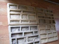 2. Ledgestone Veneer Concrete Rubber Molds Kit. DIY. START A MFG BUSINESS TODAY