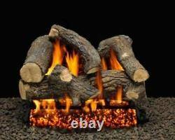 30 Sumerset Blaze Logs with Single Log Switch Pilot kit Burner Tube LP