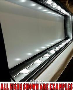3' x 4' LED Lit Box Sign- DIY FRAME KIT for Business / Residential