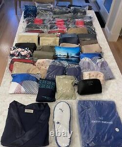 50 First & Business Class International Airline Amenity Kits withPJ's-ALL SEALED