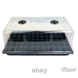 72 Cell SEED STARTER PROPAGATION KIT TRAY Seedling Plant Clone Greenhouse Dome