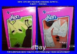 Barbie 1976-77 Htf Ken Fashion Originals Outfit 7246,9596, Europe, Nrfb