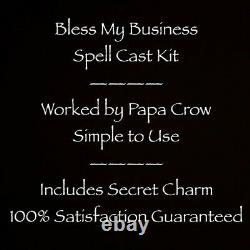 Bless My Business Grow Money Sales Income Traffic Store Online Income Spell Kit