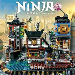 Building Blocks Kit City Sets 06083 Ninjago City Docks Harbor Model Toy for Kid