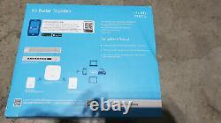 Cisco Business 140AC Starter Kit Mesh Wi-Fi Sys 1 AP + 2 Mesh CBW140MXS-B-NA