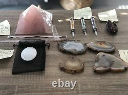 Crystals lot Huge Collection! Great for a Started Kit business Selling ONLINE