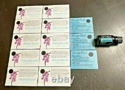 DoTERRA Essential Oil Business Lot of 300! NEW oils, cards, sample bottles kit