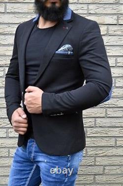 EXCLUSIVE Style SLIM Outfit DESIGNER PARTY HOCHZEIT Blazer Sakko FASHION Jacke