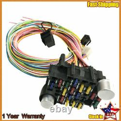 For 1937-1940 Chevy Business Coupe 21 Circuit Wiring Harness Wire Kit Chevrolet