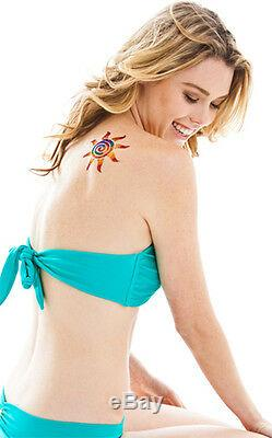 Glitter Stencil Kit Glimmer Tattoo Body Art Business Starter Kit NEW + Poster