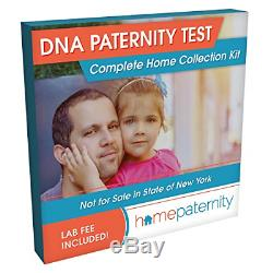 Home Paternity DNA Test Kit Lab Fees Included Results in 2 Business Days