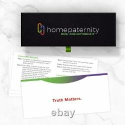 Home Paternity DNA Test Kit Results in 2Business Days Includes Lab Fees, Postage