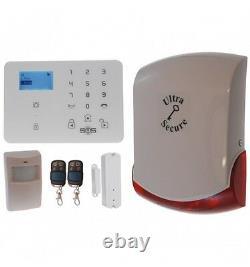 KP9 GSM Wireless DIY Home & Business Burglar Alarm Kit A Pro