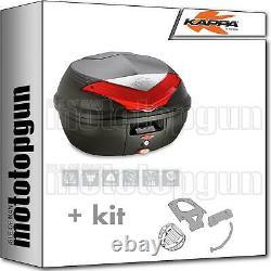 Kappa Maleta K355n + Kit Abat Monolock Piaggio Mp3 Business 300 2014 14