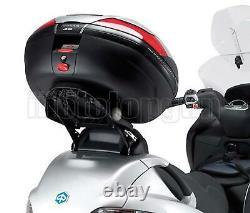 Kappa Maleta K466n + Kit Abat Monolock Piaggio Mp3 Business 500 2012 12 2013 13