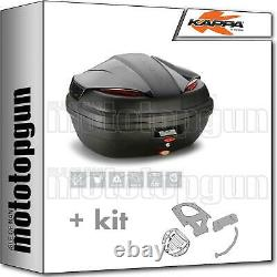Kappa Maleta K47nn + Kit Abat Monolock Piaggio Mp3 Business 300 2014 14