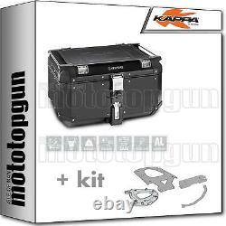 Kappa Maleta Kve58b + Kit Abat Monokey Piaggio Mp3 Business 300 2012 12 2013 13