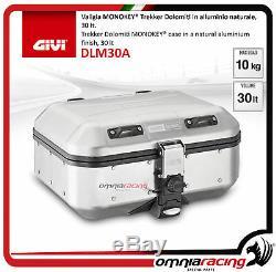 Kit Givi Top Case DLM30A + Plaque Piaggio Mp3 500 ie Sport/Business 20142017