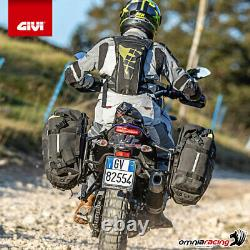 Kit Koffer Givi E470NS+Platte Piaggio Mp3 300 ie Sport/Business 20142017