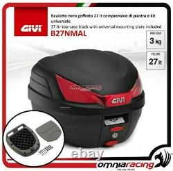 Kit bauletto Givi Valigia B27NMAL+Piastra Piaggio Mp3 Business 500 20122013