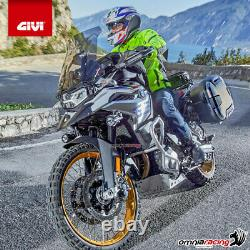 Kit bauletto Givi Valigia B37N+Piastra Piaggio Mp3 Business 500 20122013