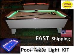 LED Pool & Billiard Table Lighting KIT Commercial Business Pool Hall Accent