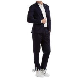 Lardini Anzug herren easy wear im043av49 imew55714 850 Blu frack outfit smoking