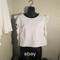 Lilly Pulitzer Top & Skirt Set White Size 14 New with tags Outfit