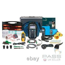 NEW Metrel MI3309 DeltaPAT PAT Tester Business Kit with Barcode Scanner