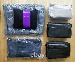 NEW Virgin V Australia Bundle Rare Amenity Kits Blanket Complete Business Class