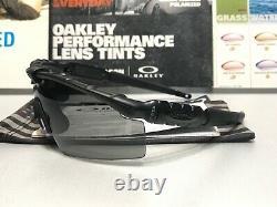 Oakley SI M Frame 2.0 Matte Black Grey Strike with USA Bag + Anti Fog Kit + Strap