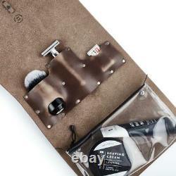 OneBlade x Koch Leather Co. Genuine Leather Dopp Toiletry Wash Kit