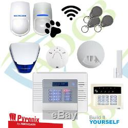 Pyronix Wireless Home Business Office Burglar Alarm Intruder Package Kit PIR