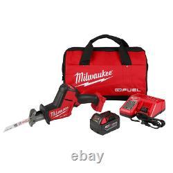 Recip Saw Kit Reciprocating Hackzall Sawzall Cordless Brushless with Tool Bag