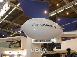 Remote control blimp airship kit for indoor use advertise business