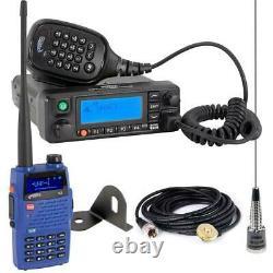 Rugged Radios Jeep Radio Kit Digital Business Band Mobile and V3 Handheld Radios