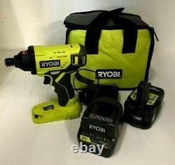 Ryobi P261 18V ONE+ 1/2 in. Cordless 3-Speed Impact Wrench, N KIT
