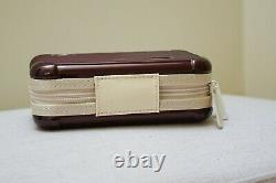 SEALED! New RIMOWA Eva Air Business Class Amenity Travel Kit in Red Burgundy