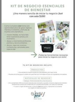 SWISS JUST USA Membership Wellness Essentia Business Initial Kit English-Spanish