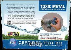 Schneider (SLGI) Toxic Metal 1 PK Test Kit (5 Business Days)