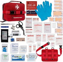 Surviveware Waterproof First Aid Kit For Kayak, Boating, Backpacking, Snow And W