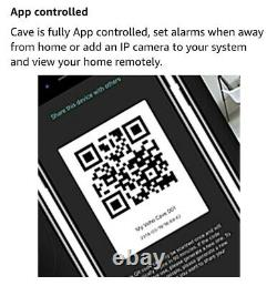 Veho Cave Smart Home/Business Wireless Security Alarm System Starter Kit with Hu