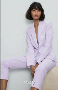 Zara Spring Outfit Co-ordinate BLAZER TRAUSERS size M