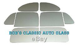 1940 Pontiac Série 25 Sport / Business Coupe New Flat Glass Kit Classique De Windows
