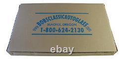 1949 1950 Plymouth Business Coupé P17 P19 Flat Glass Kit Classic Auto Windows